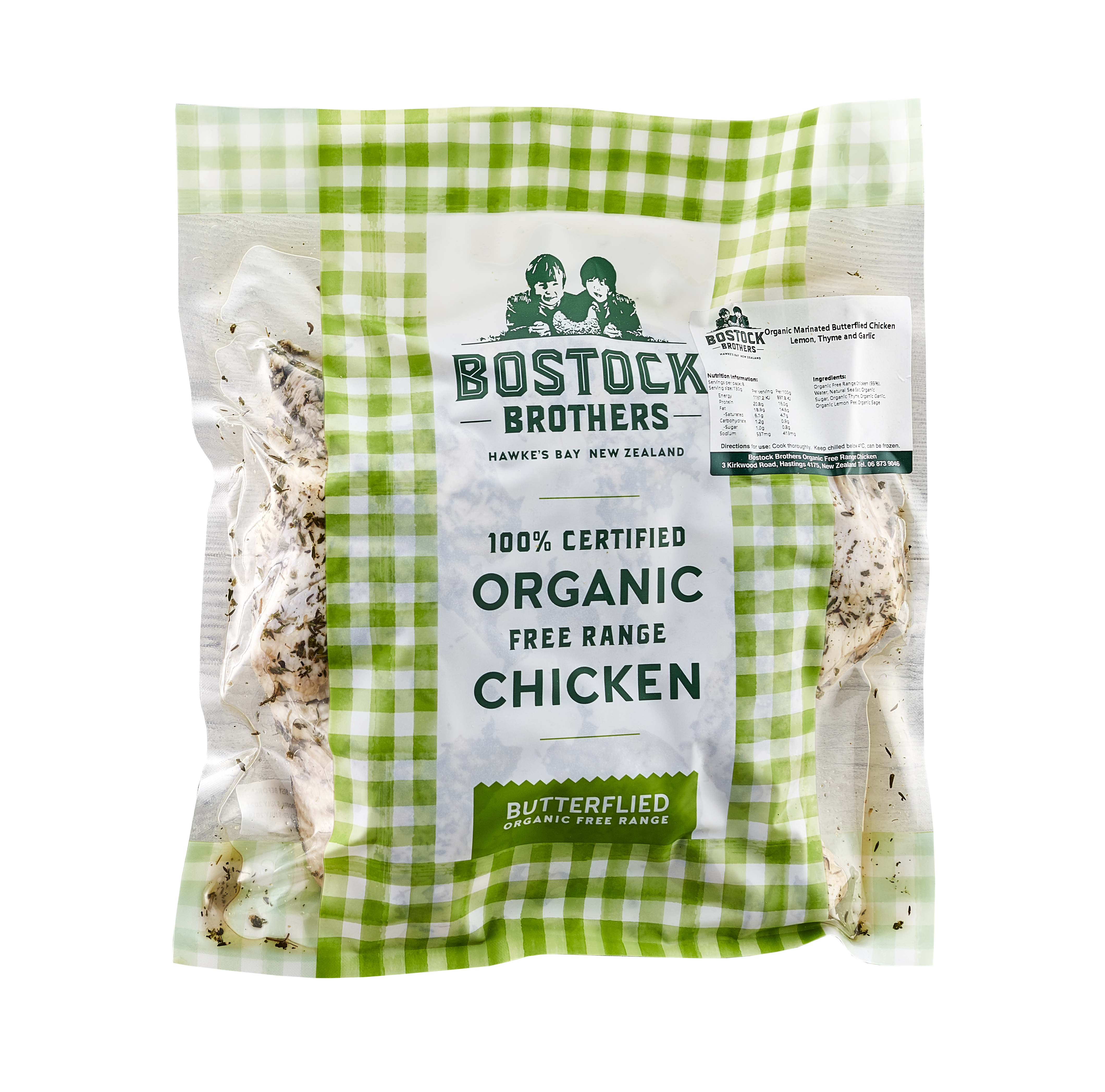 Marinated Butterfly Chicken Bostocks